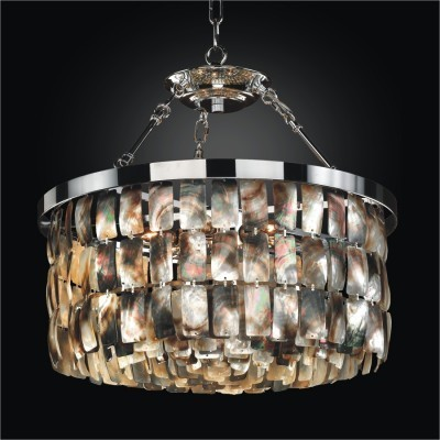 Mother of Pearl Pendant Chandeliers | Malibu
