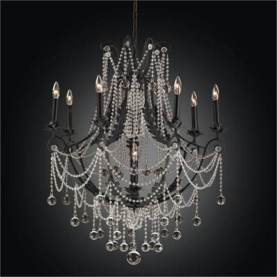 Estate Black Chandeliers | Chateau Chic