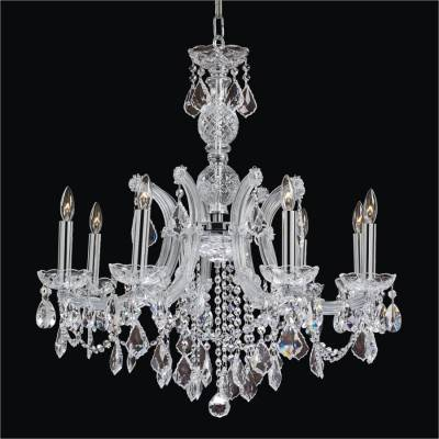 Pendalogue 8 Light Maria Theresa Chandeliers