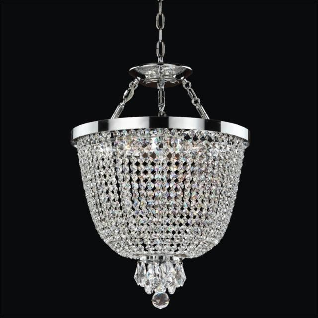 Contemporary Chandelier to Flush Mounts