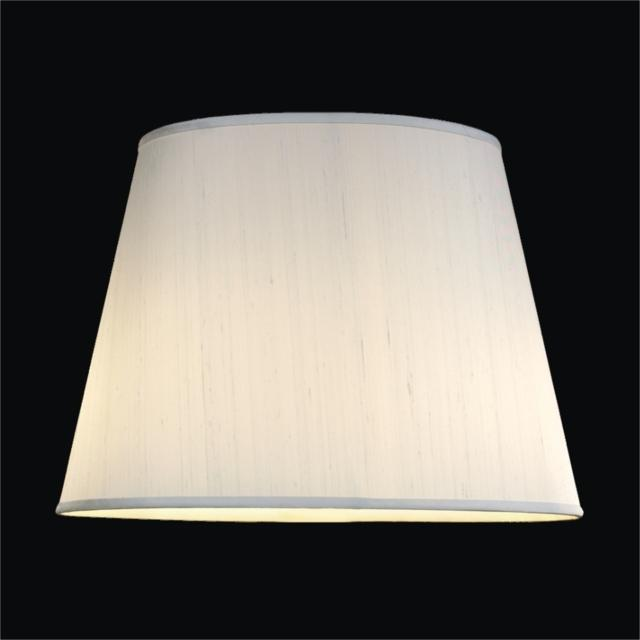 Tapered Drum Dupioni Silk Lamp Shades GLOWR Lighting