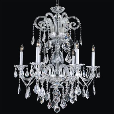 Crystal Arm Chandeliers | Dynasty