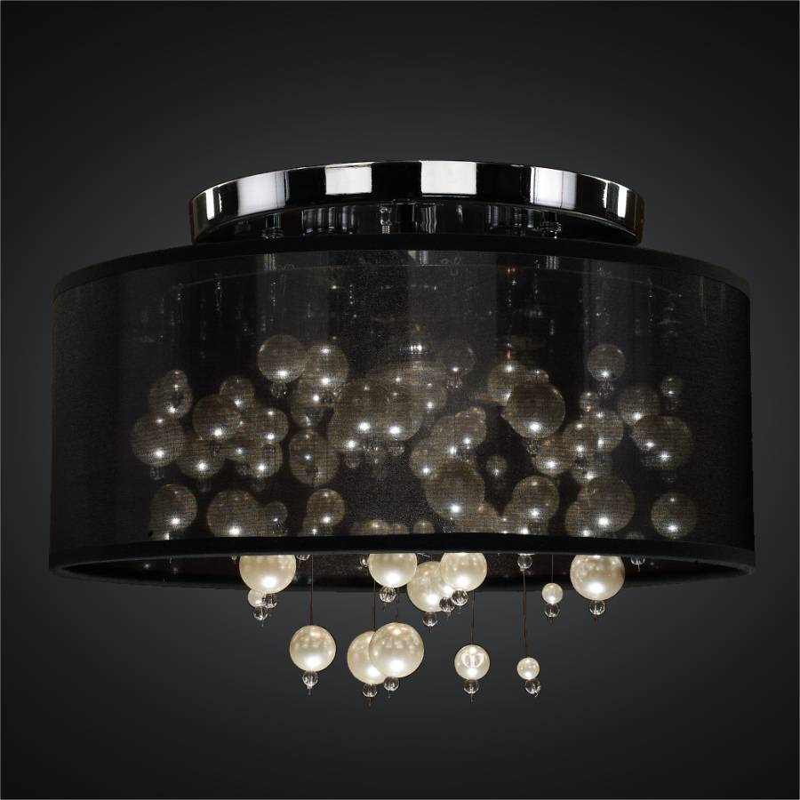 Drum Ceiling Light | Champagne 640 by GLOW Lighting