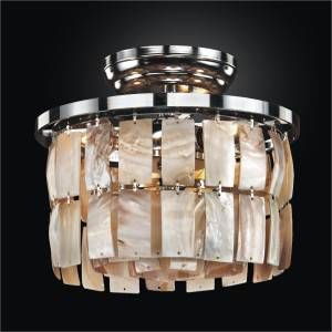 Oyster Ceiling Light | La Jolla 619 by GLOW Lighting