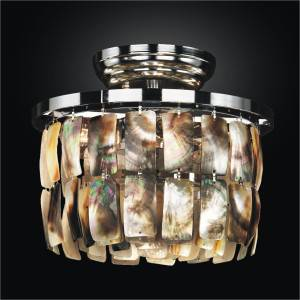 Shell Ceiling Light | Malibu 618 by GLOW Lighting
