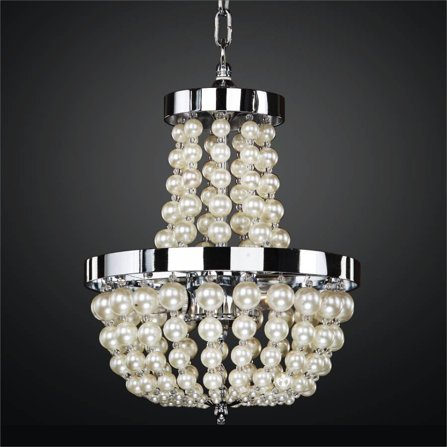 Moscato pearl bead pendant by GLOW Lighting