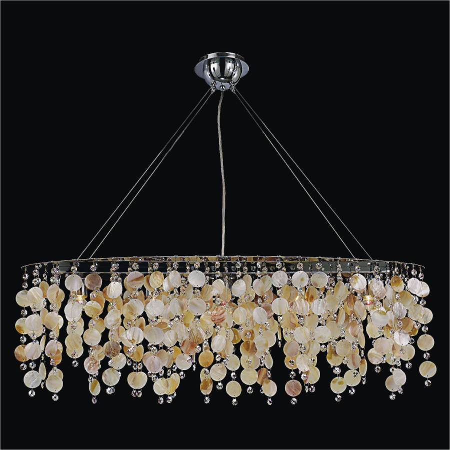 Shell Chandelier Seaside Dreams 578 Glow 174 Lighting