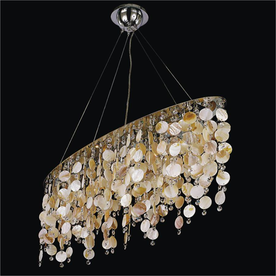 Shell Chandelier | Seaside Dreams 578 by GLOW Lighting