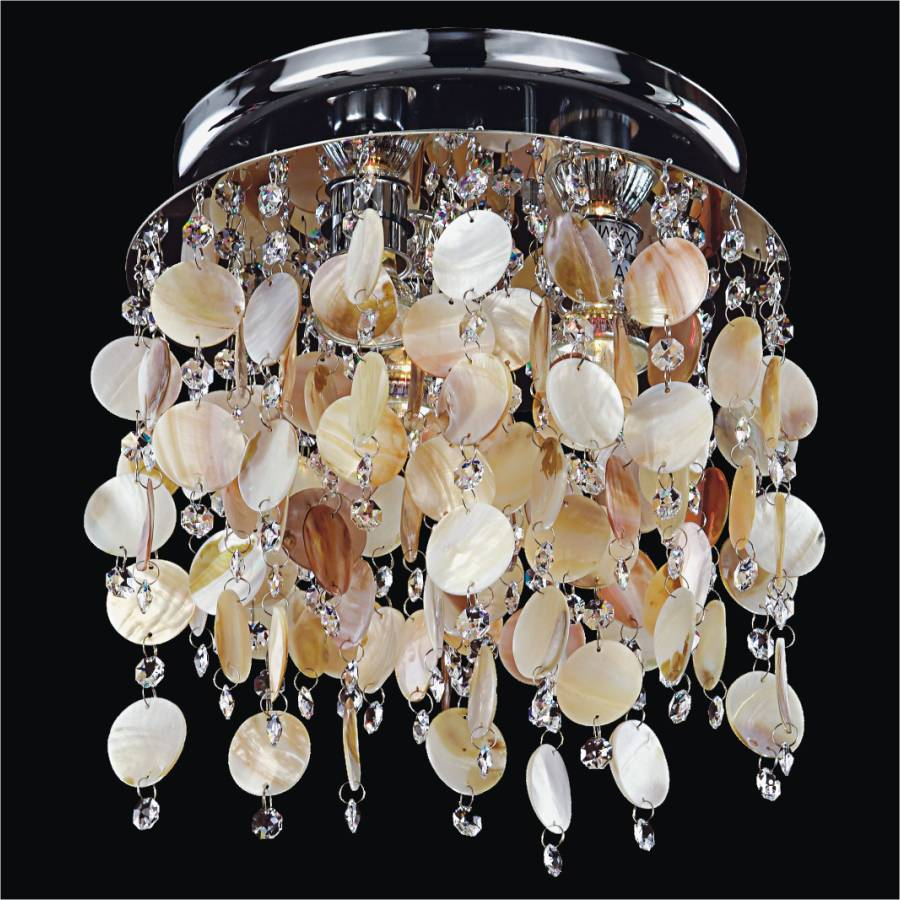 Seashell Ceiling Light | Seaside Dreams 578 by GLOW Lighting