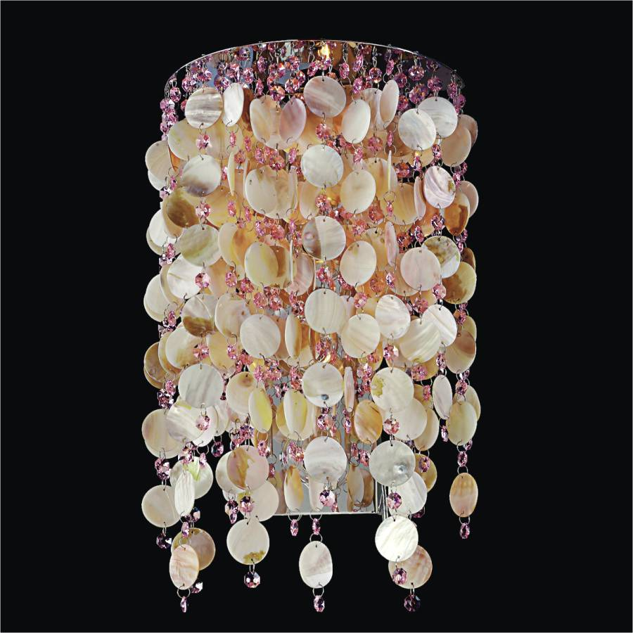 Oyster Shell Sconce | Seaside Dreams 578 by GLOW Lighting