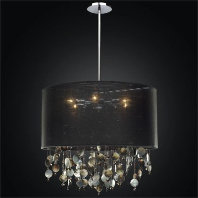 Mother of pearl pendant light glow lighting large drum shade chandelier mother of pearl chandelier around town 005 mozeypictures Choice Image