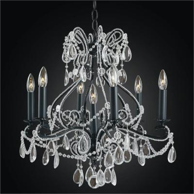 Crystal Beaded Chandelier | Beaded Fantasy 558