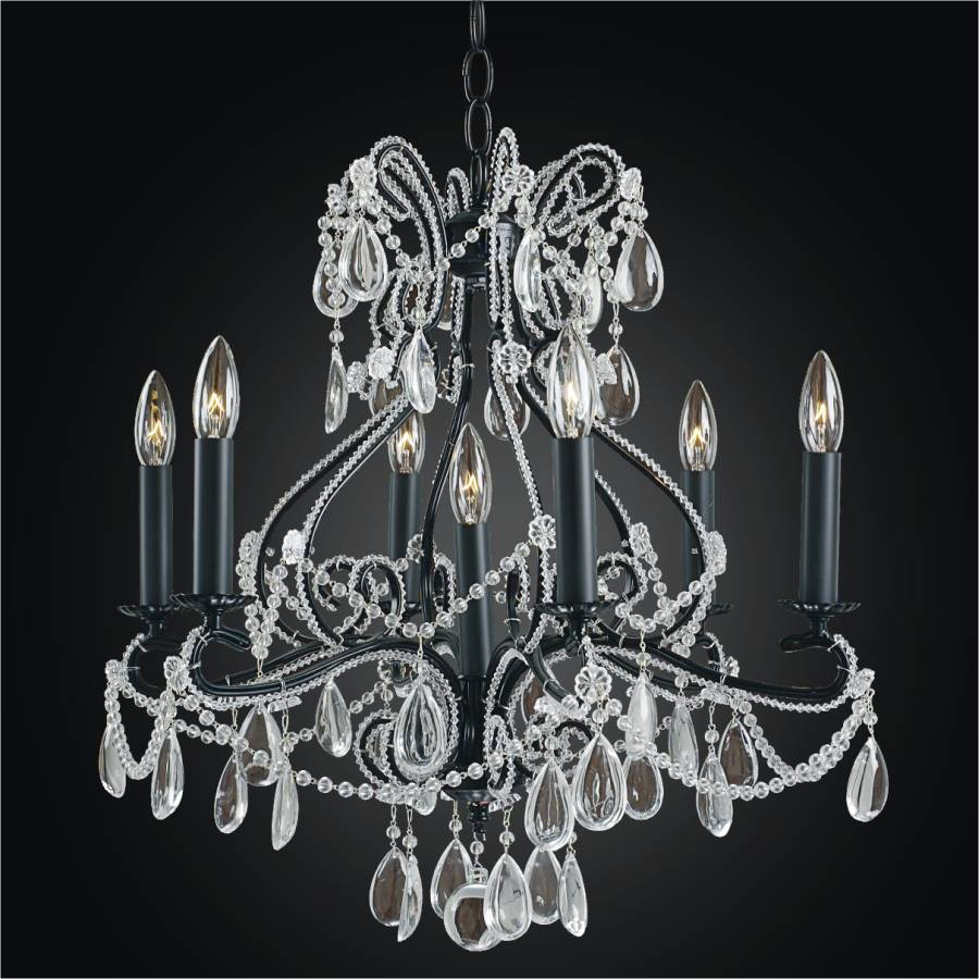 Crystal Beaded Chandelier | Beaded Fantasy 558 by GLOW Lighting