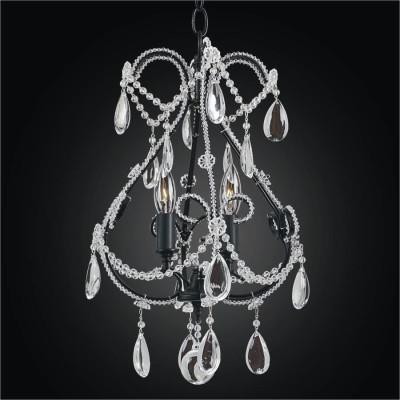 Beaded Crystal Mini Chandelier | Beaded Fantasy 559