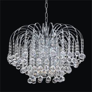 Waterfall Chandelier | Cascade 532F by GLOW Lighting