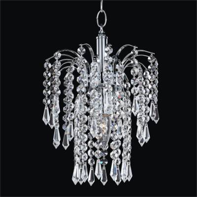 Mini Crystal Waterfall Pendant Chandelier | Cascade 532T