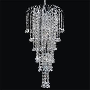 Large Waterfall Chandelier | Cascade 532F by GLOW Lighting