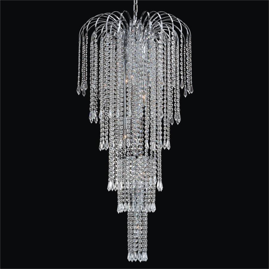 Foyer Chandeliers Canada : Entry foyer chandelier cascade t glow� lighting