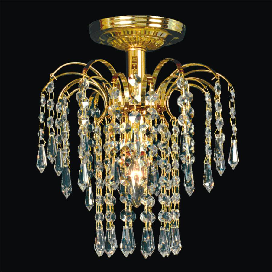 Waterfall Ceiling Light | Cascade 532T by GLOW Lighting