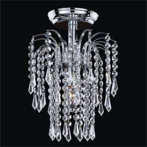 Teardrop Waterfall Flush Mount | Cascade 532T by GLOW Lighting