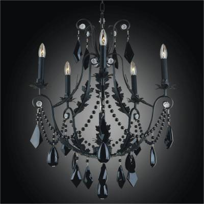 Wrought Iron Pendant Chandeliers | Chateau 554