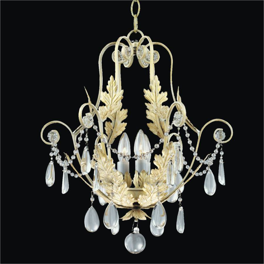 French Country Mini Pendant | Chateau 554 by GLOW Lighting
