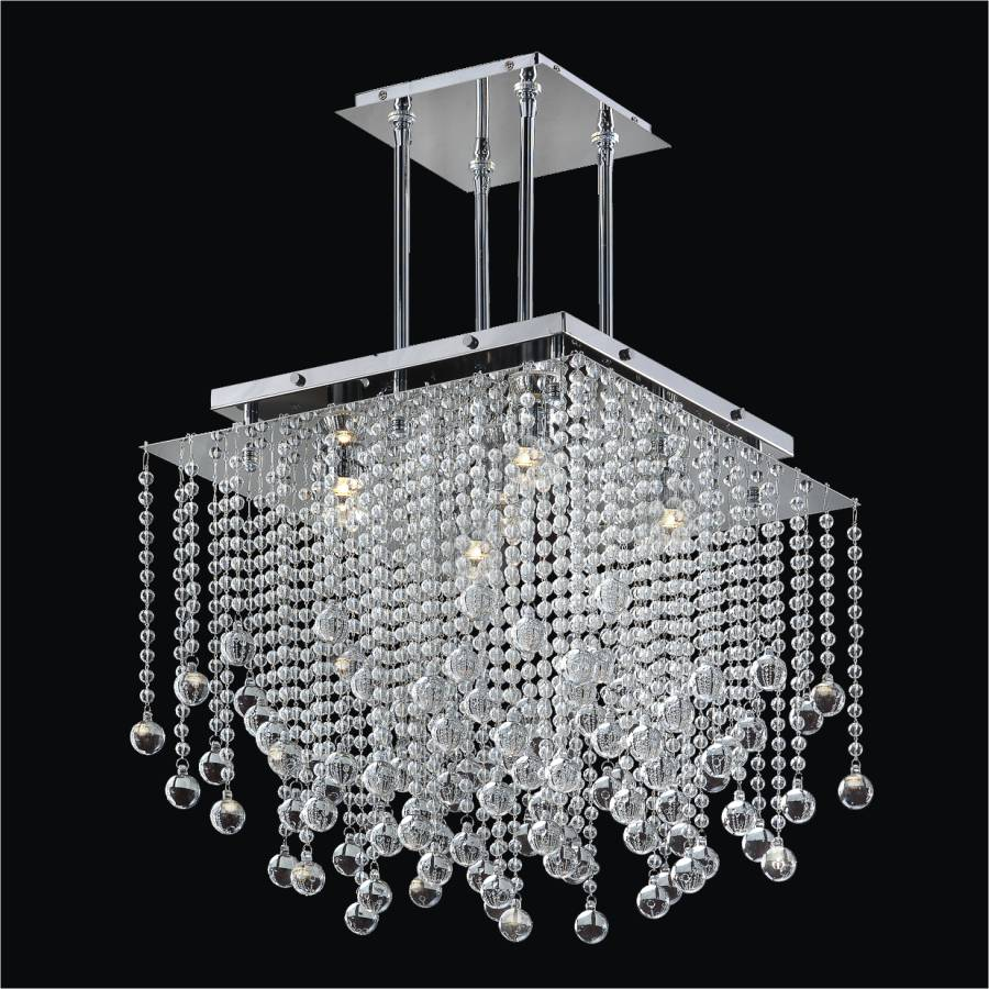 Beaded Chandelier | Cityscape 598BD18-17SP-7C