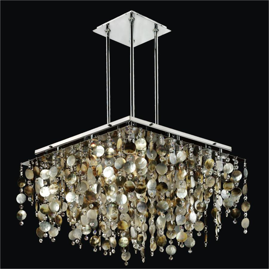 Shell Chandelier | Cityscape 598P by GLOW® Lighting
