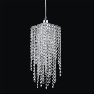 Crystal Mini Pendant Lights | Cityscape 598A by GLOW Lighting