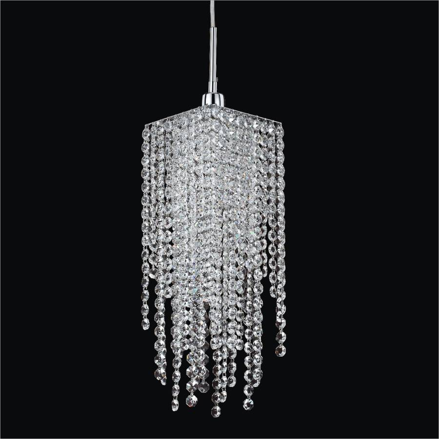 Crystal Mini Pendant Lights Cityscape 598am1lsp 7c