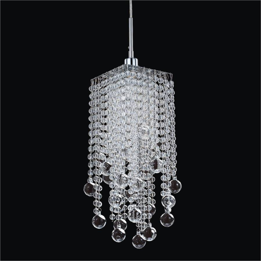 Cityscape 598bm Smooth Ball Small Chandelier 1 Light