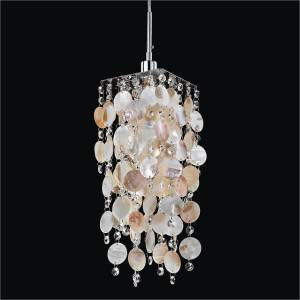 Seashell Pendant Light | Cityscape 598S by GLOW Lighting