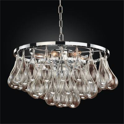 Blown Glass Modern Pendant Chandelier | Concorde 615