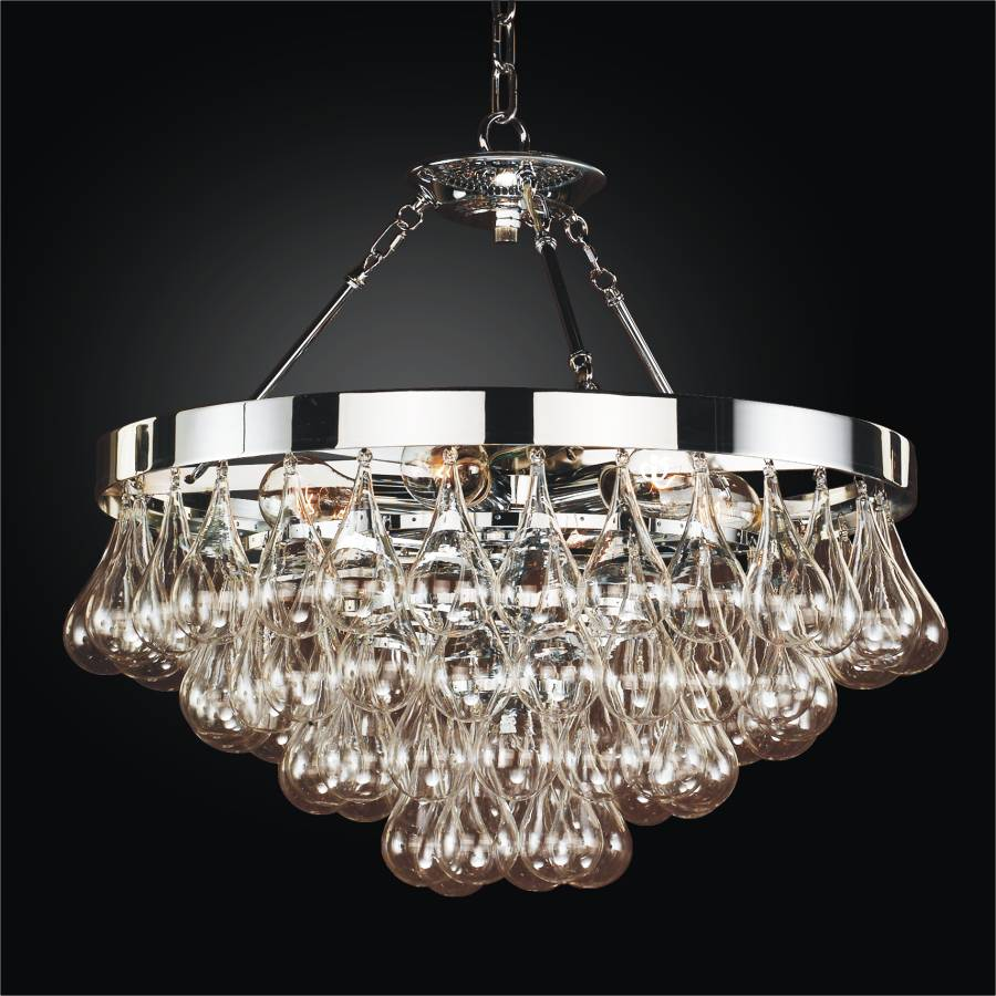Glass Pendant Chandelier