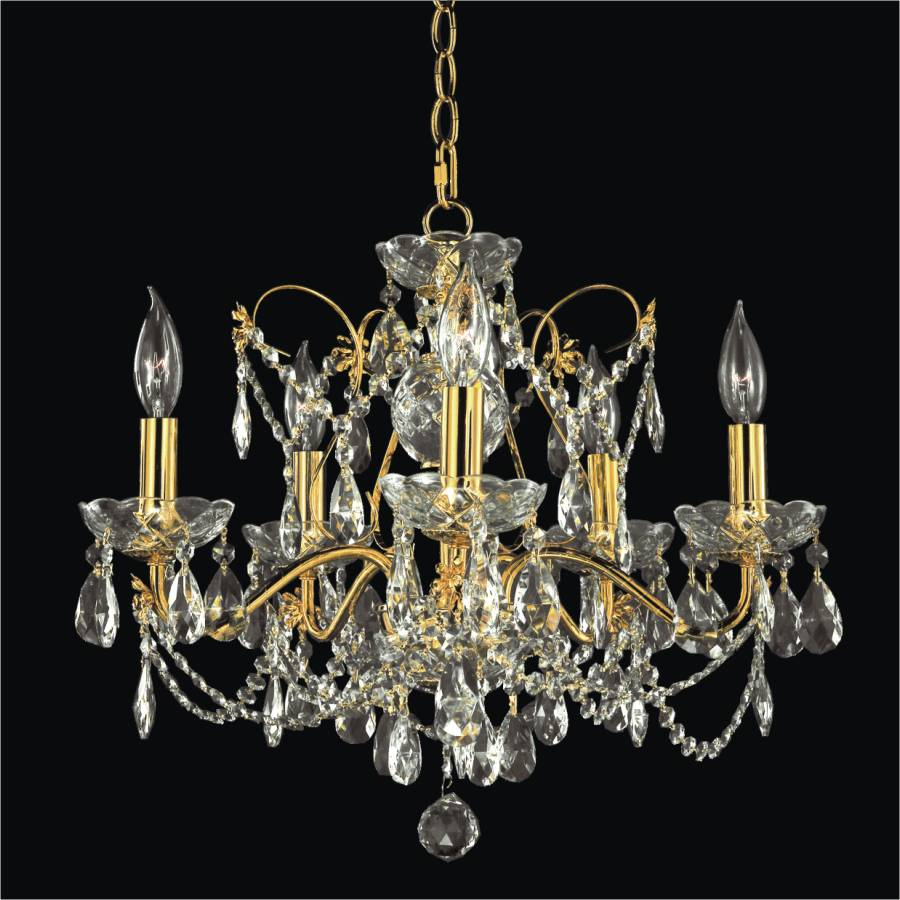 Perfect Dining Room Crystal Chandelier | Crown Jewel 537AD5LGF 3C