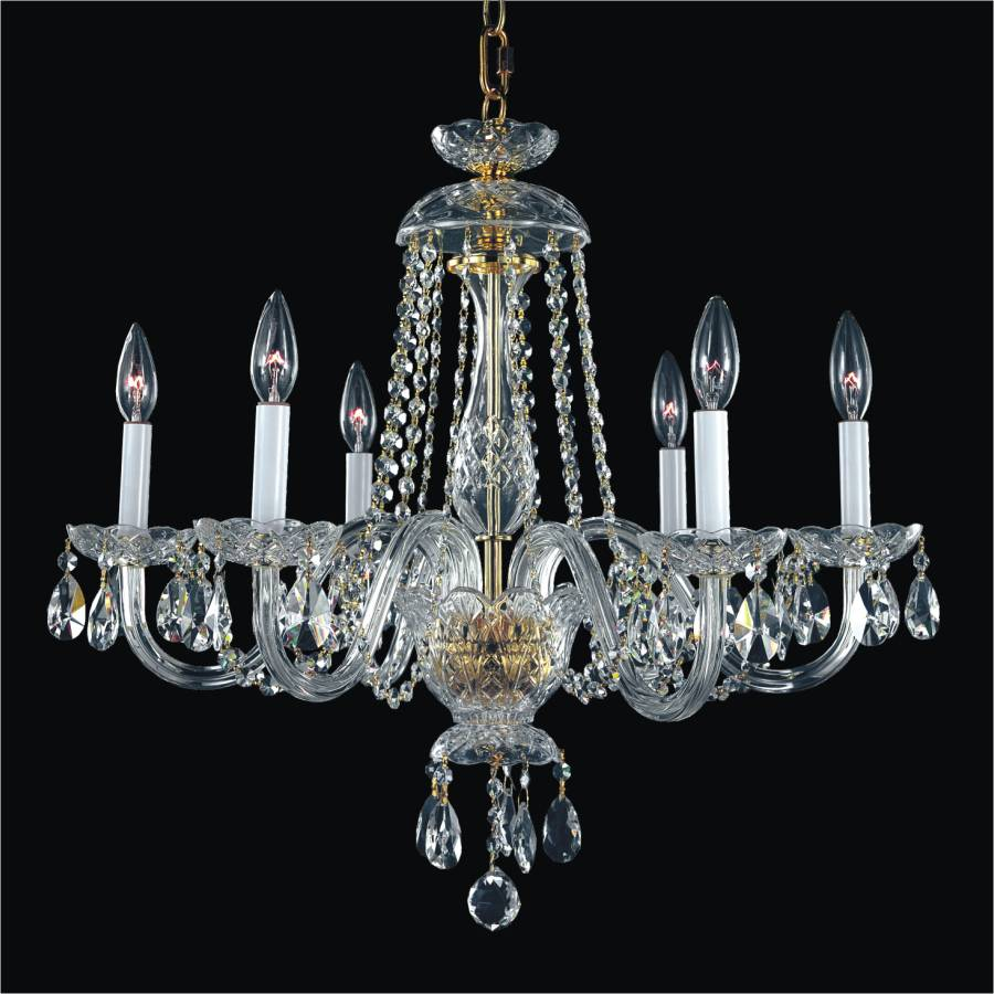 542 crystal by candlelight glow lighting crystal by candlelight glow crystal arm chandelier 542ad6lgf 3 mozeypictures Images