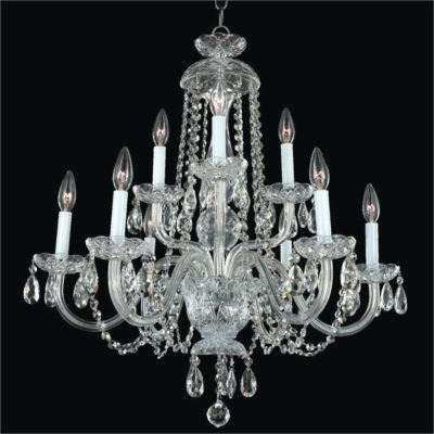 Crystal Dining Room Chandelier | Crystal By Candlelight 542