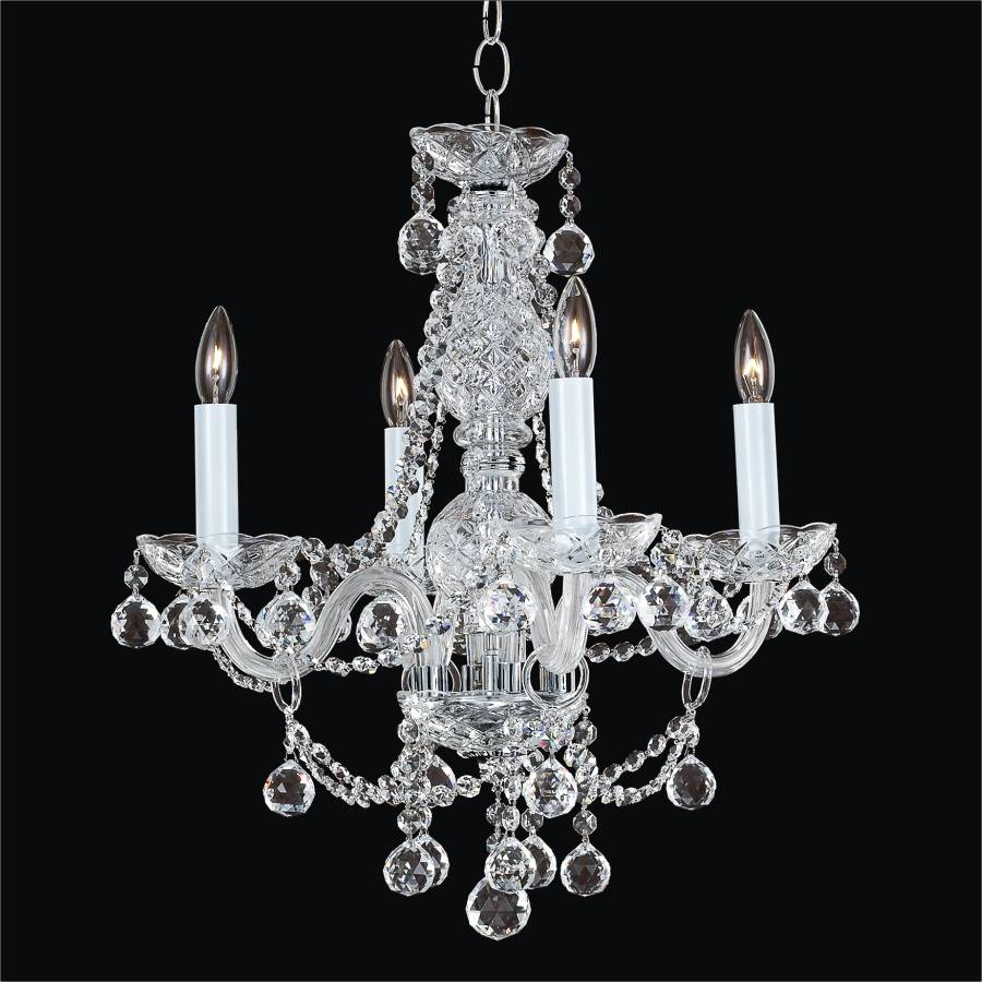 Traditional crystal chandelier crystal palace 550f glow lighting - Traditional crystal chandeliers ...