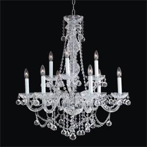 Traditional Crystal Chandelier   Crystal Palace 550F