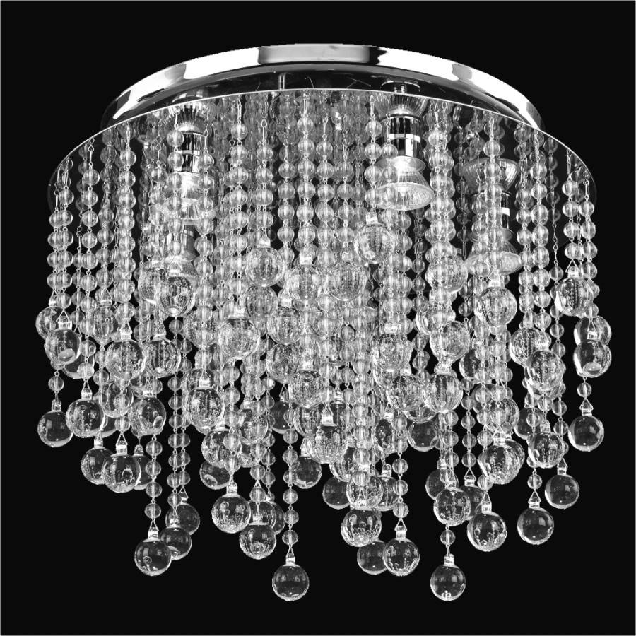 Beaded flush mount crystal rain 566b glow lighting beaded flush mount crystal rain 566b by glow lighting arubaitofo Choice Image