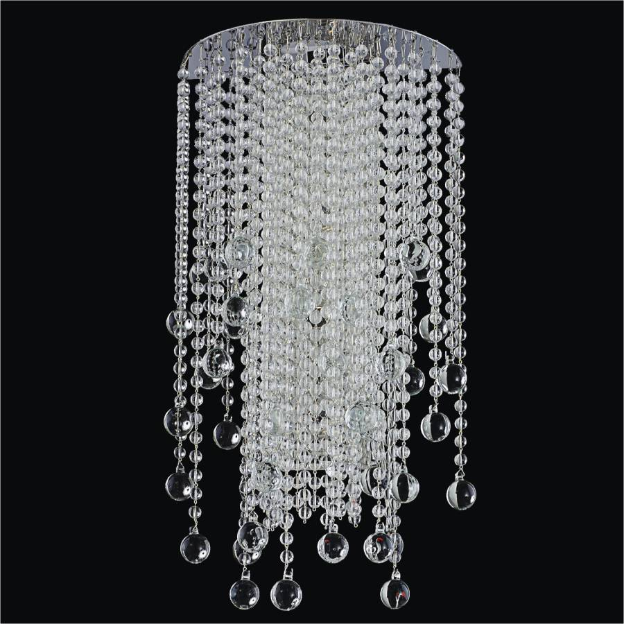 Beaded Wall Sconce | Crystal Rain 566B by GLOW Lighting