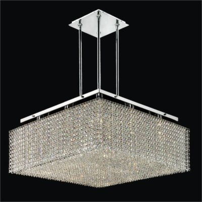 Square Crystal Chandelier | Cube2 599