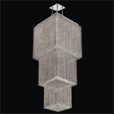 Contemporary Entryway Chandelier – Crystal Chandelier | Cube2  599