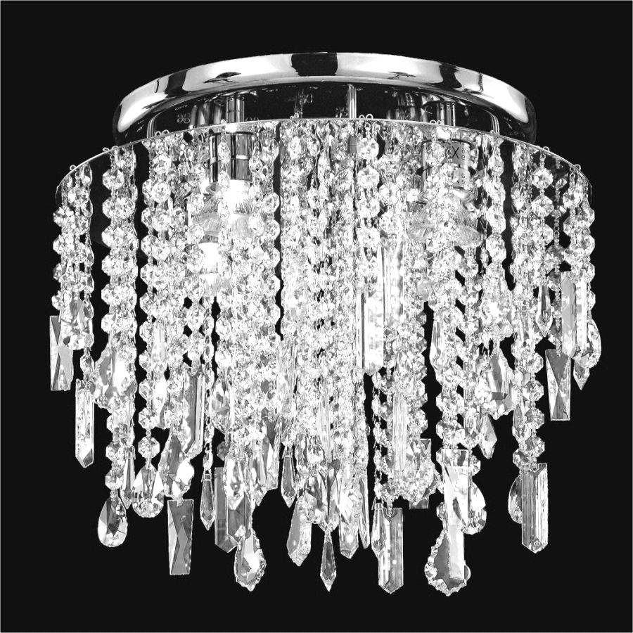 Crystal Droplet Ceiling Light | Divine Ice 577 by GLOW Lighting