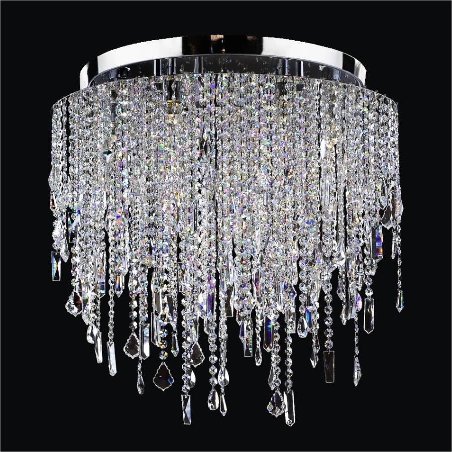 Large ceiling lights crystal ceiling chandelier 548 glow lighting crystal flush mount light large ceiling lights divine ice 577 by glow lighting arubaitofo Choice Image