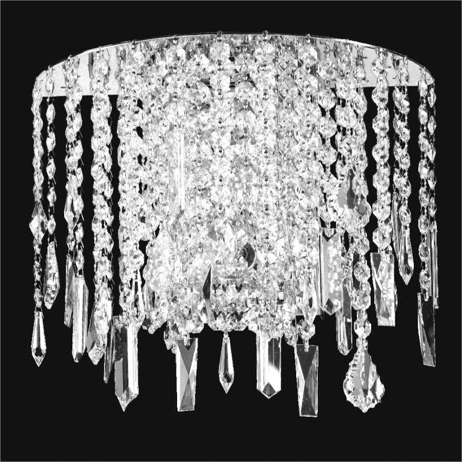 Crystal Wall Light Divine Ice 577mw2lsp 9c