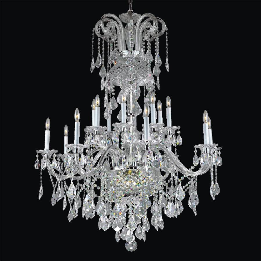 Large crystal chandelier dynasty 557 glow lighting large crystal chandelier dynasty 557af38x48sp 3 aloadofball Image collections