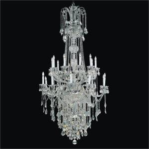 Large Foyer Chandelier | Dynasty 557 by GLOW Lighting