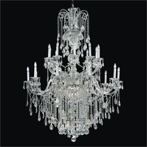 Grand Foyer Crystal Chandelier | Dynasty 557 by GLOW Lighting