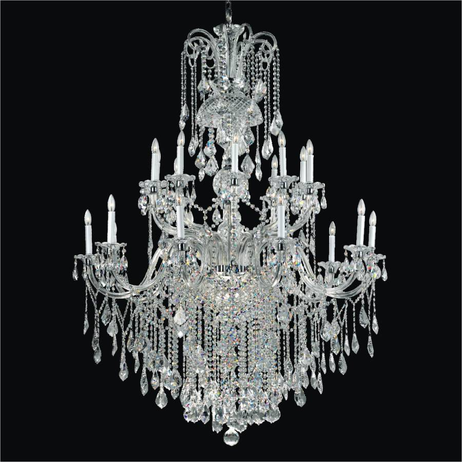 Grand Foyer Crystal Chandelier | Dynasty 557AF45X65SP-3